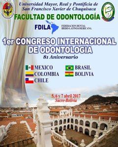 1er CONGRESO INTERNACIONAL DE ODONTOLOGIA @ Teatro Gran Mariscal de Ayacucho